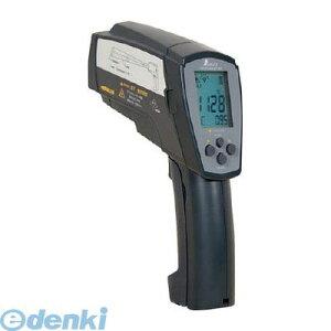 シンワ測定 73100 放射温度計H_デュアルレーザーポイント機能付_放射率可変タイプ【送料無料】