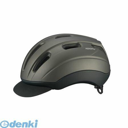 OGK KABUTO(オージーケーカブト)[4966094567620] KOOFU BC−VIA ヘルメット マットガンメタ M/L