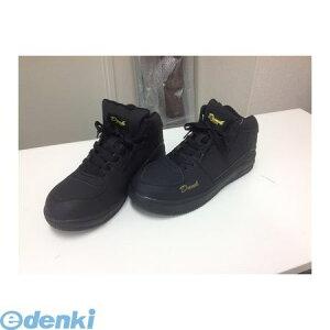 GDJAPAN ジーデージャパン 4589969284714 DN−296 安全靴 ハイカットスニーカー ブラック 23.5