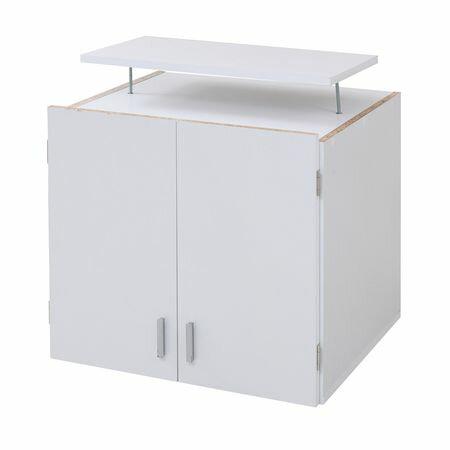 JKプラン[FRM-3004-WH]「直送」【代引不可・他メーカー同梱不可】 壁面ロッカーシリーズ 上置きFRM3004WH