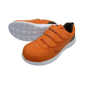 富士手袋工業 FUJITE 4907534612453 12−45 セーフライトスニーカーマジック オレンジ 26