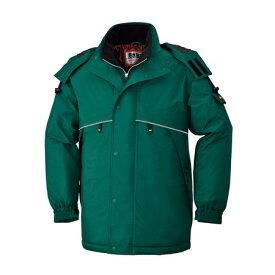 [4930269205112] BEE MAX BM785 ボウカンコート 色:グリーン サイズ:M