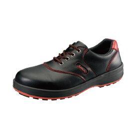 シモン SL11R クロ/アカ250 JIS安全靴 SL11Rクロ/アカ250 シモンライト 25cm 短靴 SL11-R SL11-R黒 安全短靴シモンライト 工業用品