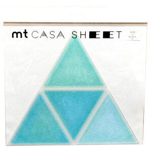 【ポイント2倍】カモ井 S-57 MT CASA SHEET 三角形 タイル 3枚入り S57 カモ井加工紙 MT03WST002 3枚パック マスキングテープ インテリア カモイ