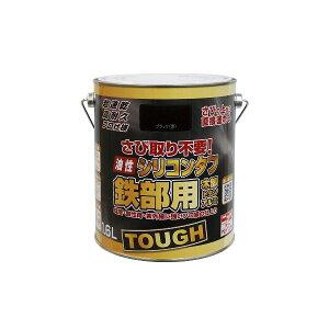 ニッペホームプロダクツ 4976124219337 油性シリコンタフ ブラック【黒】 1.6L