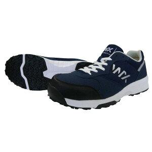 アシックス商事 4549095824055 テクシーワークス セーフティスニーカー JSAA A種適合 WX−0001 053【NAVY】 23.0 ネイビー 作業靴