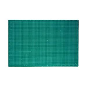 プラス 4977564475628 カッターマット A1 GR CS−A1 緑 グリーン カッティングマット 48-587 PLUS カッターマットA1GRCS-A1緑 カラータイプ A1サイズ