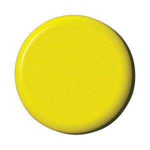 スマートバリュー B272J-Y 強力カラーマグネット 塗装18mm 黄 B272JY