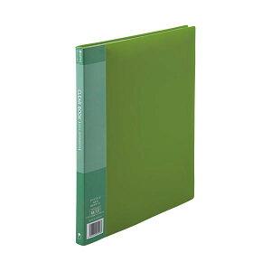 スマートバリュー D047J-GR クリアーブック20P A4S緑1冊 D047JGR