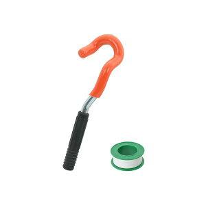 カクダイ GA-KH014 GAONA ガオナ 赤札見つけ 水栓取外しレンチセット 単水栓用 シールテープ付き 【古い蛇口 交換 簡単】 GAKH014
