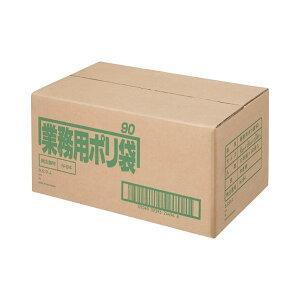 2147345084628 日本サニパック ポリゴミ袋 N−94 白半透明 90L 10枚 30組 N−94−30