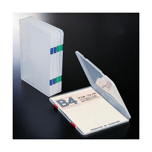 4906137602918 和泉化成 ファイルケース XK−29 B4 クリアー