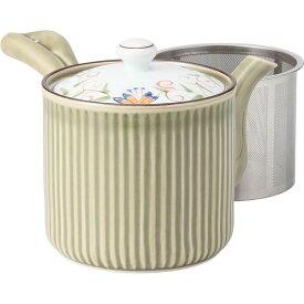 西海陶器 12739 花蓮 SS軽量急須 緑・大