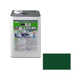 アサヒペン 4970925423955 アサヒペン 水性簡易屋上防水塗料 16KG グリーン