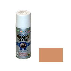 アサヒペン 4970925502537 クリエイティブカラースプレー 300ML 14キャメル 4970925502537 300ML-14キャメル AP ASAHIPEN スプレー塗料