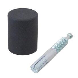 清水 4905637971098 ポイント戸当 コンクリート床用 黒 SH−TP45C−B