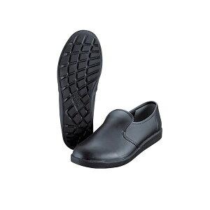 【5月1日最大400円OFFクーポン+エントリーで最大ポイント4倍】【ポイント5倍】4979058463159 ミドリ安全 ハイグリップ作業靴 27cm 黒 H−800 スリッポンタイプ KND-378134 超軽量耐滑作業靴 コックシュ