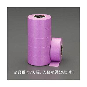 【ポイント2倍】エスコ EA943ML-12 12mmx18m マスキングテープ 建築塗装用10巻 EA943ML12