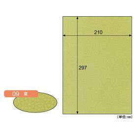 【ポイント2倍】ヒサゴ CU09S 【5個入】 カラー素材紙 クラッポ小染 はな/草