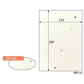 【ポイント2倍】ヒサゴ CW04S 【5個入】 カラー素材紙 クラッポ和風/冬色