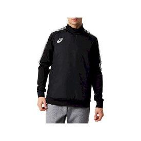 アシックス 4550215281191 2101A058 パデッドピステトップ Pブラツク サイズ:S メンズ 2101A058-001 サッカーウェア 防風性のある中綿入り トレーニングシャツ