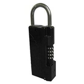 【あす楽対応】ノムラテック N-1296 NEWキーストックハンディ 色:ブラック N1296 鍵の収納BOX 65x182x34mm ドアノブに取付可能 ダイヤル設定可能 番号は10000通り Nomura tec【即納・在庫】