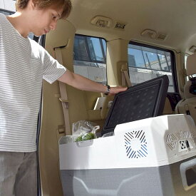 サンコーレアモノショップ CLBOX30L バッテリー内蔵30Lひえひえ冷蔵冷凍庫