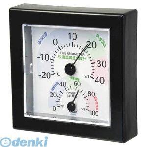 オーム電機 07-7736 湿温度計 快適環境表示 ブラック TR-100W 077736 クレセル 快適環境温湿度計 TR-100K 壁掛け・卓上両用