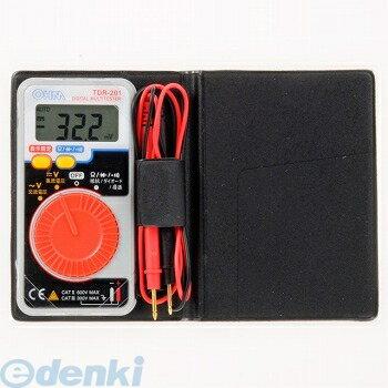 オーム電機 [09-2002] デジタルマルチテスター TDR-201 092002