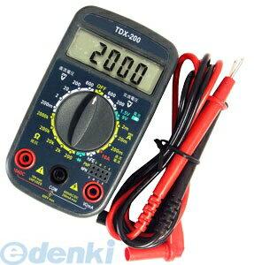 オーム電機 [04-1855] デジタルマルチテスター TDX-200 041855