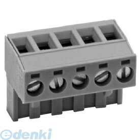 オムロン OMRON XW4B-05C1-H1 プリント基板用コネクタ端子台 端子ピッチ5.08mm 電極側 XW4B05C1H1【キャンセル不可】