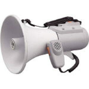 【あす楽対応】「直送」TOA ER-2115W 中型ショルダー型メガホン ホイッスル音付き ER2115W 290-4594
