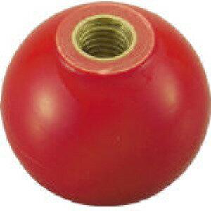 【あす楽対応】トラスコ中山(TRUSCO) [P-TPC20-5R] 樹脂製握り玉 金具付赤 20XM5mm PT PTPC205R