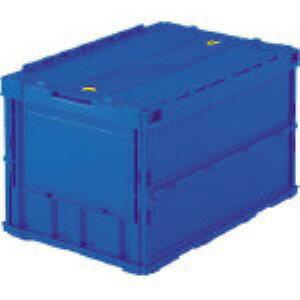 トラスコ中山(TRUSCO) [TR-C50B DB] 薄型オリコン50L(ロック蓋付) 暗青 T TRC50BDB