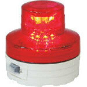 【あす楽対応】日動 [NU-AR] 電池式LED回転灯ニコUFO 常時点灯タイプ 赤 NUAR 356-1313