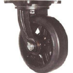 【あす楽対応】「直送」ヨドノ MHA-MG150X75 鋳物重量用キャスター MHAMG150X75 305-3091