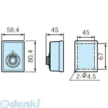 パナソニック(Panasonic) [EA2201K] 角型音量調節ブザー【キャンセル不可】