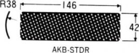 TJMデザイン タジマツール [AKB-STDR] アラカンスタンダード替刃甲丸刃 AKBSTDR 377-1091