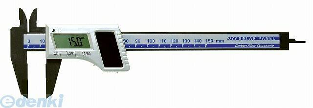 シンワ測定 [19981] デジタルノギス カーボンファイバー 製 150 ソーラーパネル 19981