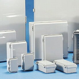 タカチ電機工業 BCAP353515G 直送 代引不可・他メーカー同梱不可 BCAP型防水・防塵開閉式プラボックス BCAP-353515G