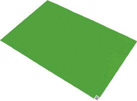 【個数:1個】トラスコ中山 TRUSCO CM609010GN 粘着クリーンマット グリーン 10シー 419-8671 【送料無料】 600X900MM 10シート入 CM6090-10GN