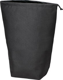 【スーパーSALEサーチ】トラスコ中山 TRUSCO TNFD10L 不織布巾着袋10枚入 黒 500X420X220MM