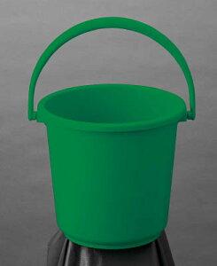 【あす楽対応】「直送」トラスコ中山 TRUSCO TPPB10GN PPカラーバケツ 10L 緑 TPPB-10-GN 4989999314328 PPカラーバケツ10L緑 グリーン 清掃用品