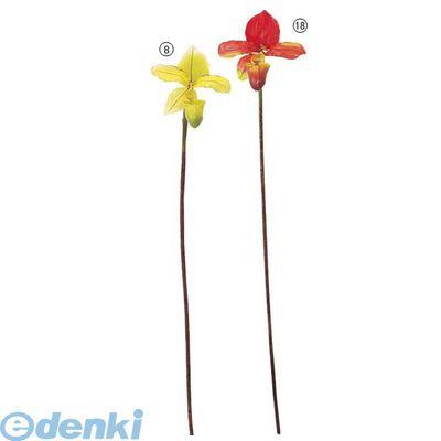 【造花・装飾】【数量限定につき、売切の際はご了承ください】[FLSP369418] パフィオペディルム バーガンディ FLSP3694