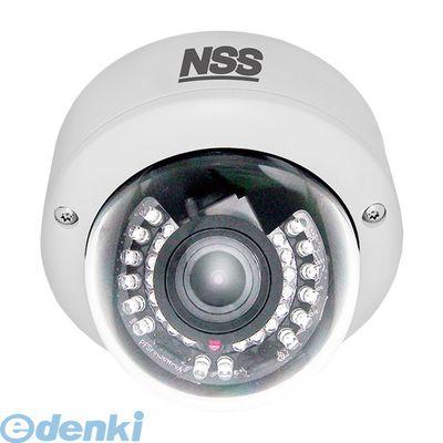 [NSC1033AWDVP] 「直送」【代引不可・他メーカー同梱不可】 ワンケーブル48万画素防水暗視ドーム型カメラ f=2.8〜12mm/F1.2