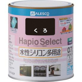 【あす楽対応】ALESCO[616-002-0.7] ハピオセレクト 0.7L 黒6160020.7