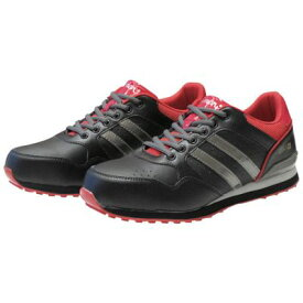 【あす楽対応】「直送」シモン NS811BR-28.0 耐滑プロテクティブスニーカー NS811NS811BR28.0 レッド ブラック Simon 作業用品 履物 衣料 安全靴
