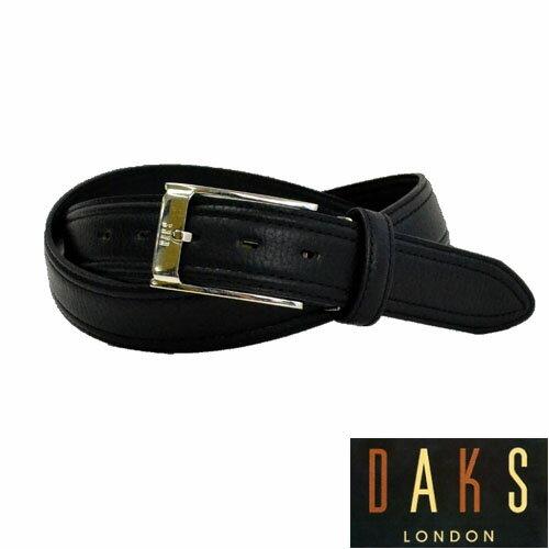 【あす楽対応】DAKS ダックス メンズ ブラックレザーベルト【楽ギフ_包装】DB36450 3-75ベルト