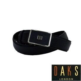 【あす楽対応】DAKS ダックス メンズ バックル式レザーベルト(ブラック)【楽ギフ_包装】DB36550 3-86ベルト