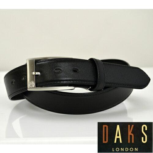 【あす楽対応】DAKS ダックス メンズ レザーベルト ブラック 【楽ギフ_包装】DB39910 3-100ベルト